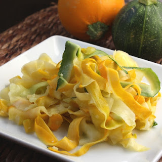 Sauteed Zucchini Ribbons