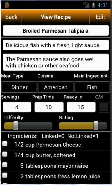 Grocery Tracker Shopping List - screenshot