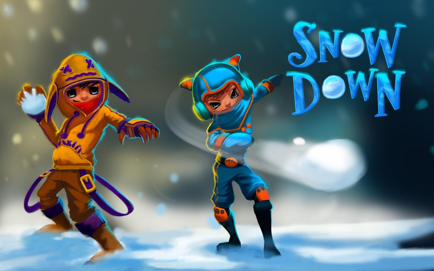 Snowdown Clash - Fun Run Crush- screenshot