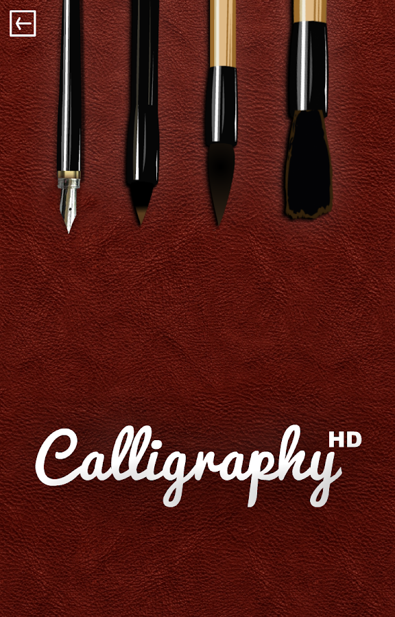 Calligraphy HD+- screenshot