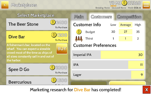 Fiz : Brewery Management Game Screenshot 4