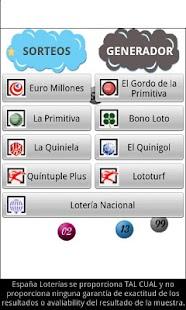 España Loterías- screenshot thumbnail