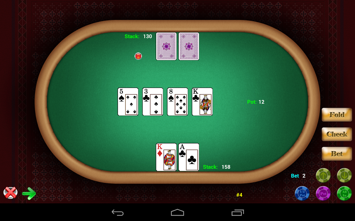 poker against computer app