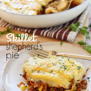 Skillet Shepherd's Pie.