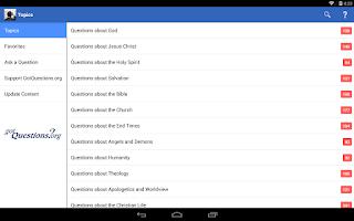 Screenshot of Got Questions?