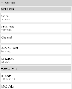 WIFI Signal Strength v9.2.1