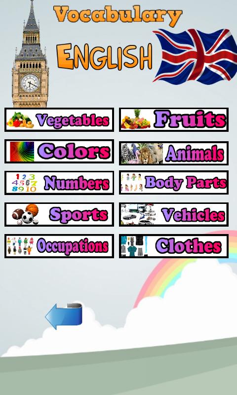 Learn Animal Names In English Screenshot