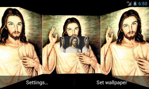 Lord Jesus 3D Live Wallpaper