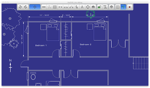 PadCAD CAD Drafting - screenshot thumbnail