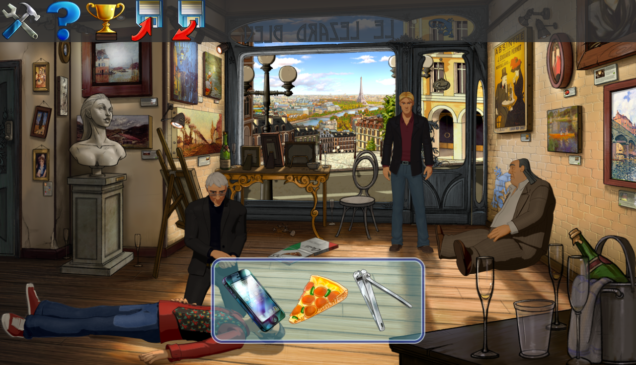 Broken Sword 5: Episode 1- screenshot