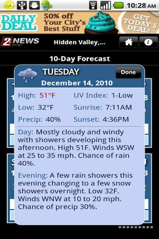 KTVNweather - screenshot