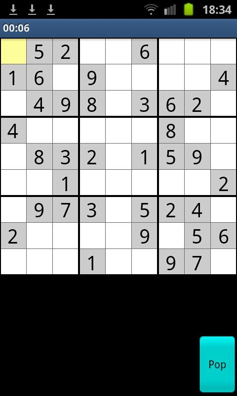 Free Sudoku + 40 Games - screenshot