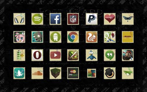 【免費個人化App】Stamps Icon Pack-APP點子