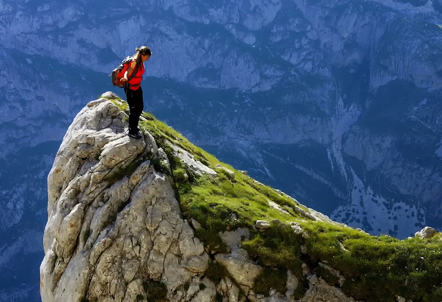 Equilibrium by Costin Mugurel - Sports & Fitness Climbing ( climbing, mountains, nature, summer, durmitor )