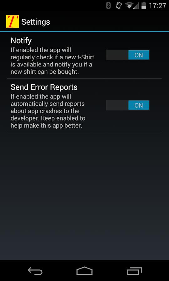 Tee Alarm - screenshot
