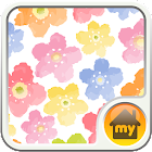 water color blooming Theme icon