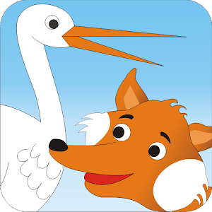 The Fox and Stork - Kids Story
