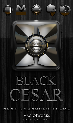 Cesar Next Launcher Theme