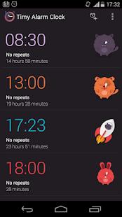 Timy Alarm Clock - screenshot thumbnail