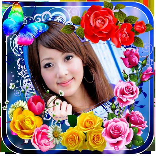 Rose Flower Photo Frames Apps On Google Play