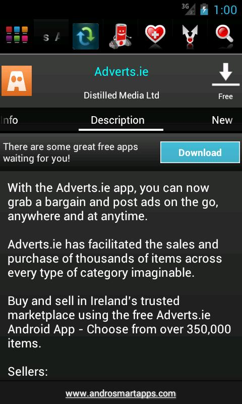 Ireland Android - screenshot