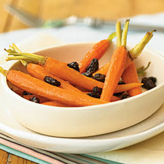 Spicy Honey-Roasted Carrots.