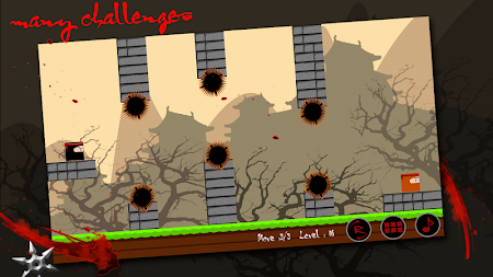 Ninja Invincible - ninja games 2.9 screenshot 135175