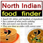 North Indian Food Finder