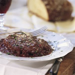 Steak with Shallot-Red Wine Sauce (Bifteck Marchand De Vin) Recipe