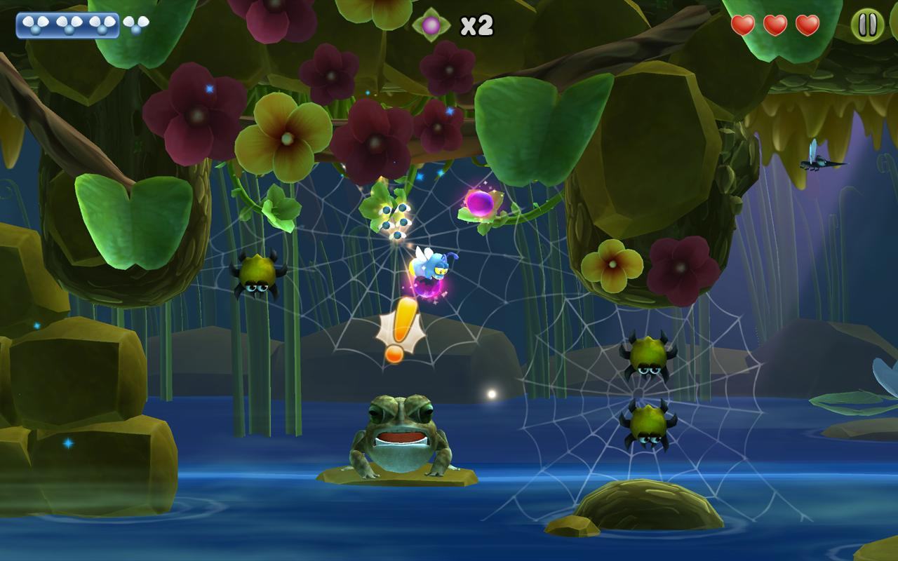 Shiny The Firefly FREE- screenshot