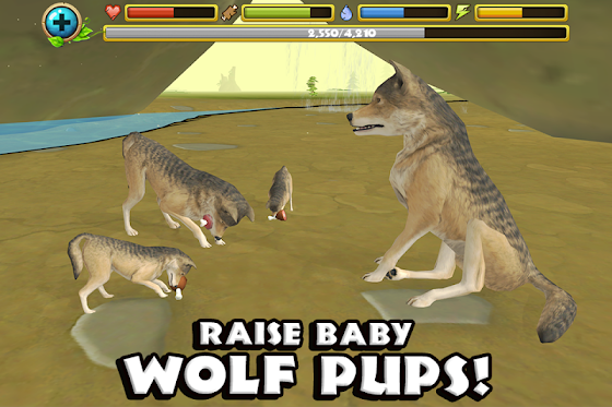 Wildlife Simulator: Wolf