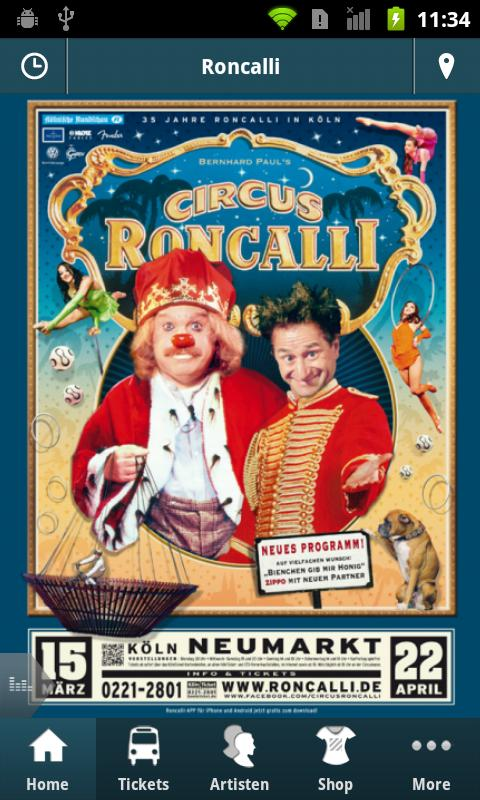 Circus Roncalli- screenshot