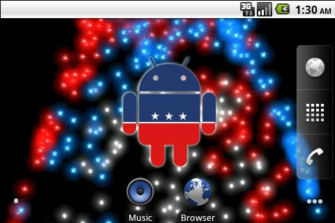 Captain Android of America LWP- screenshot