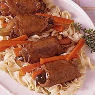 Beef Rouladen (carrots)