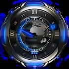 Earth designer Clock Widget icon
