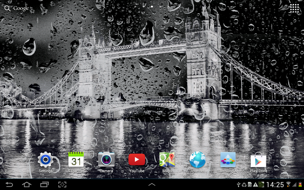 ripple effect live wallpaper