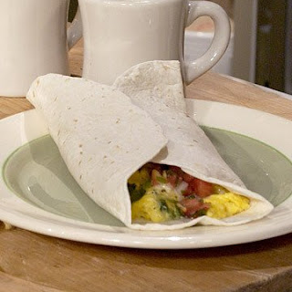 Farmer's Market Breakfast Burrito