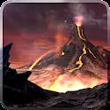 Volcano 3D Live Wallpaper icon