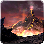 Volcano 3D Live Wallpaper icon
