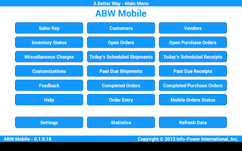 ABW Mobile- screenshot thumbnail