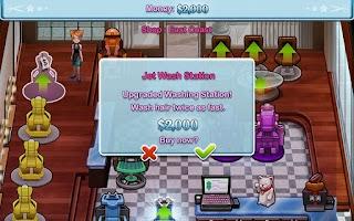 Screenshot of Sally's Salon Luxury Lite