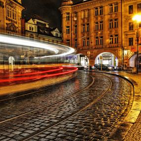 Malostranské náměstí by Irena Brozova - City,  Street & Park  Street Scenes