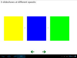 Screenshot of Swipe Bundle Demo