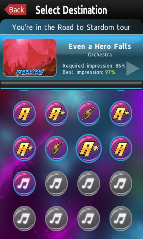 Crazy Concert: Tap and Slice - screenshot