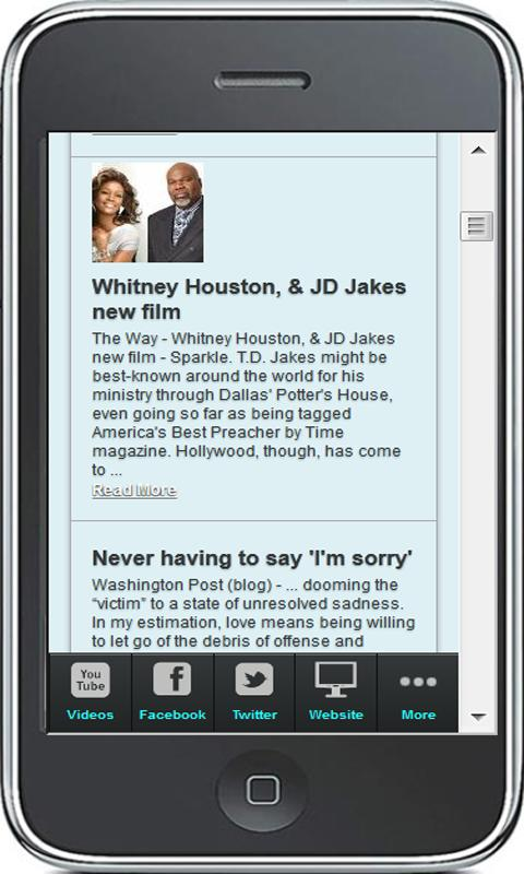 T.D. Jakes - screenshot