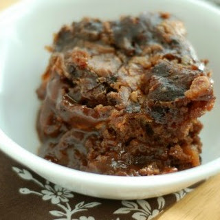 Slow Cooker Chocolate Butterscotch Pudding Cake