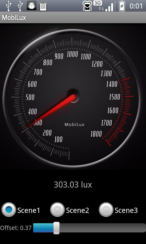 MobiLux : Light Meter- screenshot