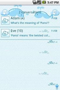 EasySMS Little Fish theme screenshot