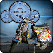 Vespa Compas Clock Battery LWP