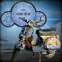 Vespa Compas Clock Battery LWP 1.5